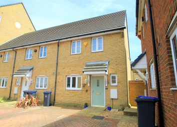Thumbnail 3 bed end terrace house for sale in Hopewell Close, Shoreham-By-Sea