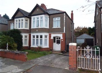 Thumbnail 3 bed semi-detached house for sale in St. Denis Road, Cardiff, Caerdydd, Wales