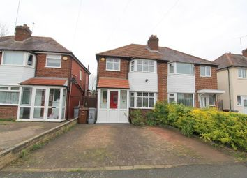 Thumbnail 3 bed property to rent in Newborough Road, Shirley, Solihull