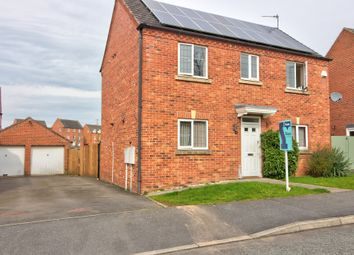 Thumbnail 3 bed detached house for sale in Beacon View, Bagworth, Coalville