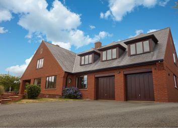 Thumbnail 4 bed detached house for sale in Sarnau, Llanymynech