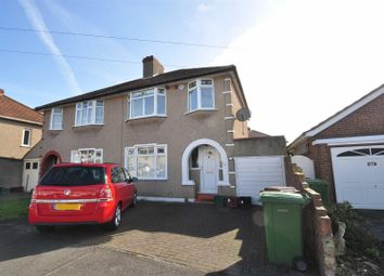 Thumbnail 3 bed semi-detached house to rent in Malvern Avenue, Bexleyheath