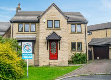 Thumbnail 4 bed detached house for sale in Kebble Court, Gomersal