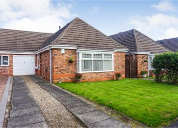 Thumbnail 3 bed bungalow for sale in Lidcombe Close, Sunderland