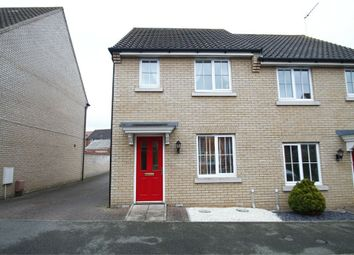 Thumbnail 2 bed semi-detached house for sale in Curtis Way, Grange Farm, Kesgrave, Ipswich, Suffolk