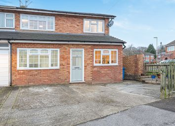 Thumbnail 3 bed semi-detached house for sale in Belland Drive, Aldershot