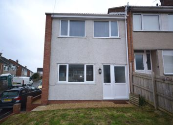 Thumbnail 2 bedroom end terrace house for sale in Hilltop Gardens, St George, Bristol