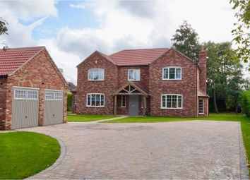 Thumbnail 5 bed detached house for sale in Caistor Road, Market Rasen