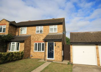 Thumbnail 3 bed semi-detached house for sale in Avon Rise, Flitwick