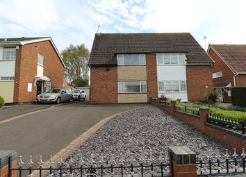 Thumbnail 2 bed semi-detached house to rent in Derwent Close, Pensnett