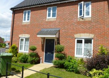 Thumbnail 3 bedroom semi-detached house to rent in 33 The Pines, Cringleford, Norwich