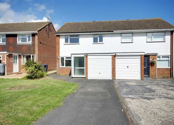 Thumbnail 3 bed semi-detached house for sale in Taw Close, Durrington, Worthing, West Sussex