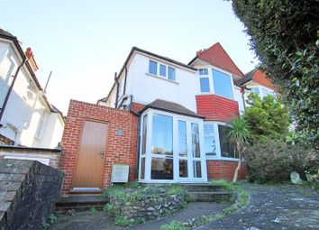 Thumbnail 3 bed semi-detached house to rent in Upland Road, Eastbourne