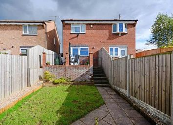 Thumbnail 2 bed semi-detached house for sale in Swalebank Close, Chesterfield, Derbyshire
