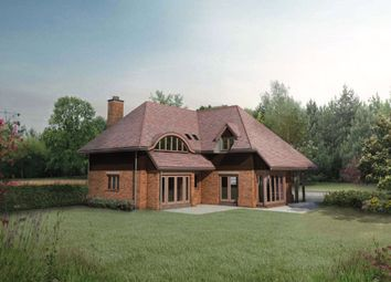 Thumbnail 4 bed detached house for sale in Crookham Hill, Crookham Common, Thatcham, Berkshire