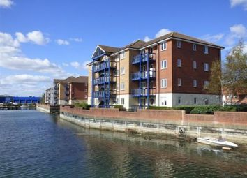 Thumbnail 2 bed flat for sale in Quayside Road, Southampton