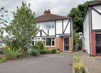 Thumbnail 2 bedroom semi-detached house for sale in Weston Avenue, Addlestone, Surrey