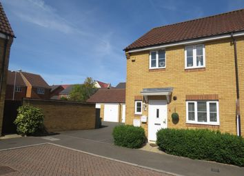 Thumbnail End terrace house for sale in Peppercorn Way, Dunstable