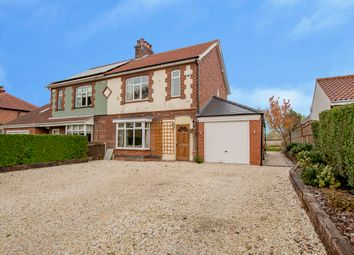 Thumbnail 3 bed semi-detached house for sale in Smeath Lane, Hayton, Retford