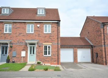 Thumbnail 3 bed semi-detached house for sale in Harewood Close, Spennymoor