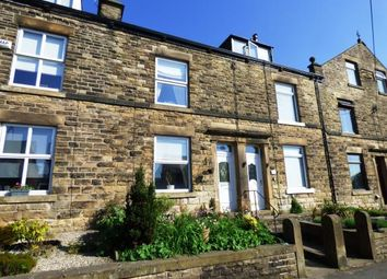 Thumbnail 3 bed terraced house for sale in Hayfield Road, New Mills, High Peak, Derbyshire