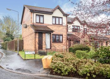 Thumbnail 3 bedroom end terrace house for sale in The Paddock, Busby, Glasgow