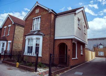 Thumbnail 3 bed detached house for sale in Elmgrove Road, Weybridge, Surrey