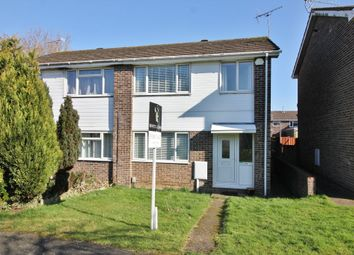 Thumbnail 3 bed semi-detached house for sale in Cranbourne Park, Hedge End, Southampton
