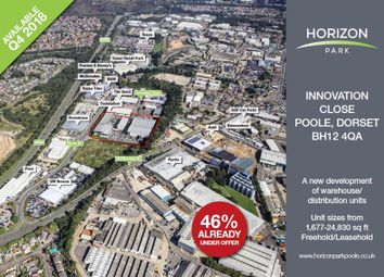 Thumbnail Warehouse for sale in Nnits 8-11 Horizon Park, Innovation Close, Poole, Dorset