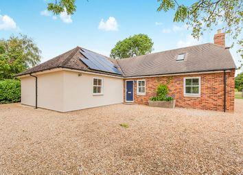 Thumbnail 5 bed bungalow for sale in The Bungalow, Hemington, Peterborough