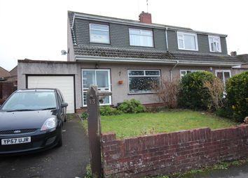 Thumbnail 3 bedroom semi-detached house for sale in Courtfield Grove, Fishponds, Bristol