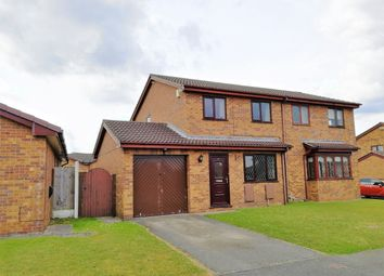 Thumbnail Semi-detached house for sale in Holly Grange, Connah's Quay, Deeside