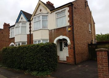 Thumbnail 3 bed semi-detached house to rent in Exeter Road, Peterborough