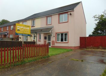 Thumbnail 3 bed end terrace house to rent in Rose Avenue, Merlins Bridge, Haverfordwest