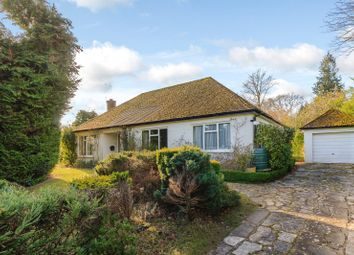 Thumbnail 3 bed detached bungalow for sale in Vicarage Lane, The Bourne, Farnham