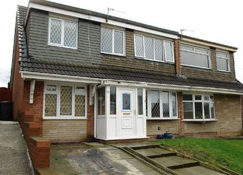 Thumbnail 4 bed semi-detached house for sale in Helston Drive, Royton, Oldham