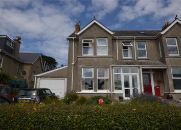 Thumbnail 5 bed semi-detached house for sale in Edgcumbe Gardens, Newquay, Cornwall