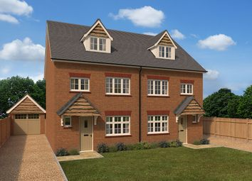 "Thumbnail 4 bed semi-detached house for sale in ""Grantham Semi"" at Dry Street, Langdon Hills, Basildon"