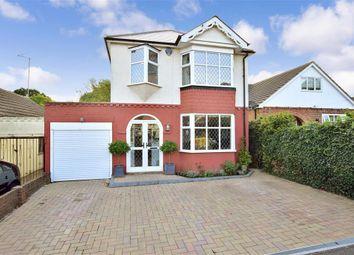 Thumbnail 4 bed detached house for sale in Edwin Road, Rainham, Kent