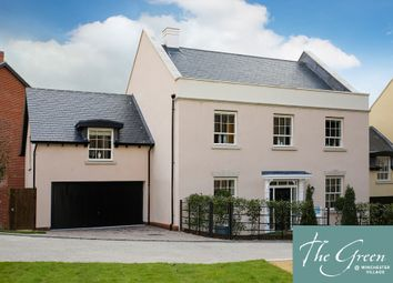"Thumbnail 5 bed detached house for sale in ""The Wickham @ The Green"" at Pitt Road, Winchester"