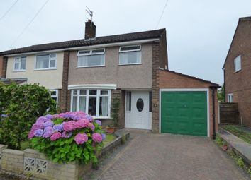 Thumbnail 3 bed semi-detached house for sale in Penrhyn Crescent, Hazel Grove, Stockport