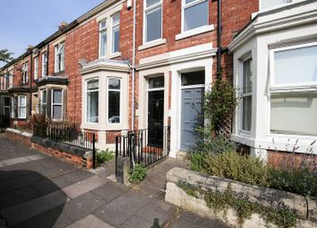 Thumbnail 4 bed terraced house for sale in Roxburgh Place, Heaton, Newcastle Upon Tyne