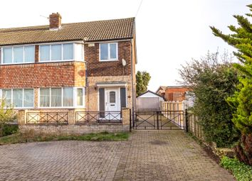 Thumbnail 3 bed semi-detached house for sale in Poplar Close, Eggborough, Goole