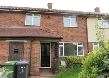 Thumbnail 2 bed terraced house to rent in Hammond Close, Wittering, Peterborough, Cambridgeshire