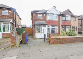 Thumbnail 3 bed semi-detached house for sale in Russell Road, Salford