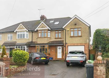 Thumbnail 5 bed semi-detached house for sale in North Street, Nazeing, Waltham Abbey, Essex