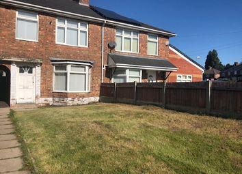 Thumbnail 3 bed terraced house to rent in Glendon Road, Erdington