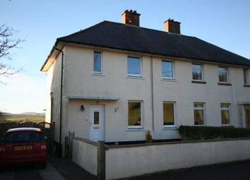 Thumbnail 2 bed semi-detached house for sale in Stirling Crescent, Kirkcudbright