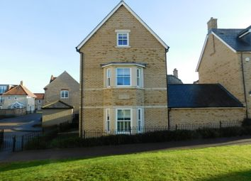 Thumbnail 4 bed detached house to rent in Burton Close, Fairfield, Hitchin