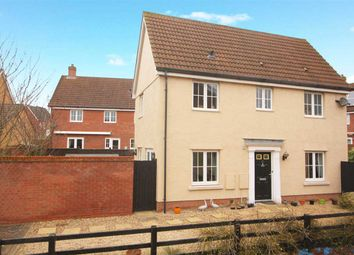 Thumbnail 3 bedroom detached house for sale in Goosander Road, Stowmarket